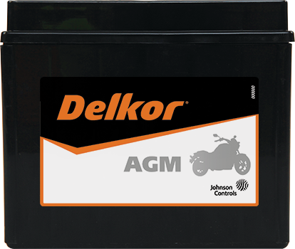 Delkor Motorcycle AGM MF DTX12-BS