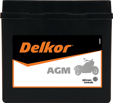 Delkor Motorcycle AGM MF DTZ7S-BS