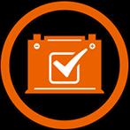 Battery Icon Checkmark