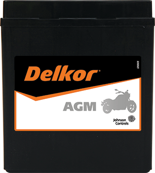 Delkor Motorcycle AGM MF DTX7L-BS