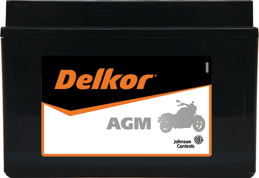 Delkor Motorcycle AGM MF DTX9-BS