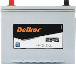 Delkor Batteries with EFB technology offer more than 2x the partial state of charge than conventional lead-acid batteries