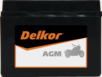 델코 모터사이클용  AGM 배터리
