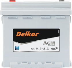 Delkor AGM batteries have up to 3x cycle life than standard flooded batteries in start-stop vehicles.