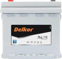 Delkor AGM Batteries offer up to three times the life of a standard flooded battery