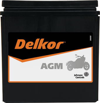 Delkor Motorcycle AGM MF DIX30L-BSA