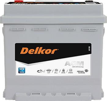 Delkor AGM 電池