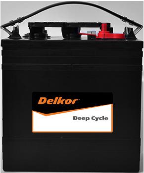 Delkor Deep Cycle GC2-XHD-UTL