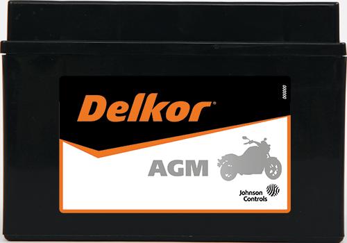 Delkor Motorcycle AGM MF DT12XA